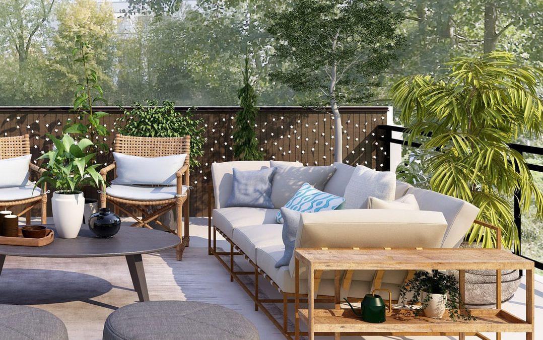 Vælg den bedste udesofa til terrassen