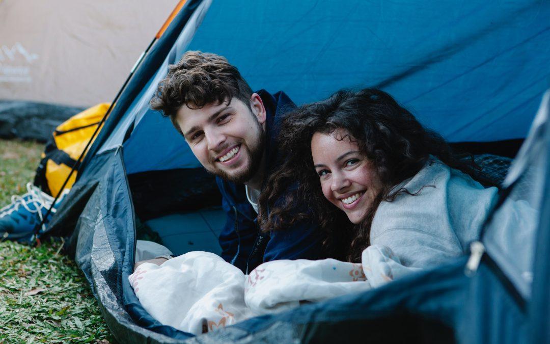 Næste destination: campingpladsen!