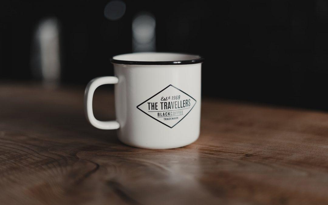 Få din virksomheds logo på krus